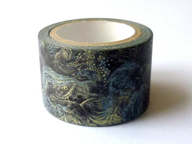 ✐ Liuyingchieh  : Masking Tape ✐ The Significant Travel = 和紙膠帶 Washi Masking Tape 30 mm x 10 m 原創山水風景紙膠帶.旅行寫生