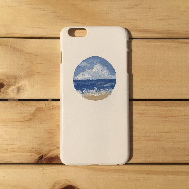 Beach sandy beach hand-painted mobile phone case IPHONE: HTC: SONY: SAMSUNG: ASUS: OPPO