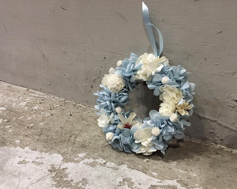 Summer Ocean Immortal Wreath - No Withering Flowers, Everlasting Flowers, Home Decorations, Wedding Things