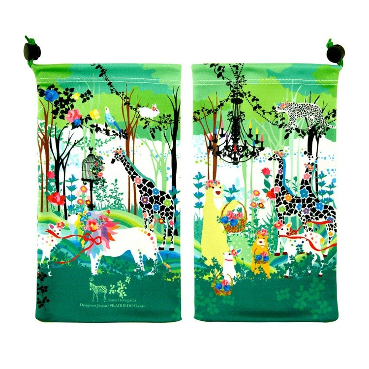 Japanese Prairie Dog Big KYUKYU Wipe Storage Bag - Crown Day