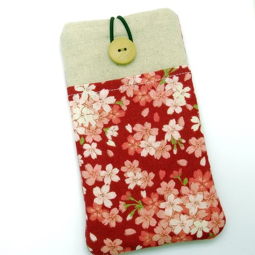 iPhone sleeve, iPhone pouch, Samsung Galaxy S8, Galaxy note 8, cell phone, ipod classic touch sleeve (P-219)