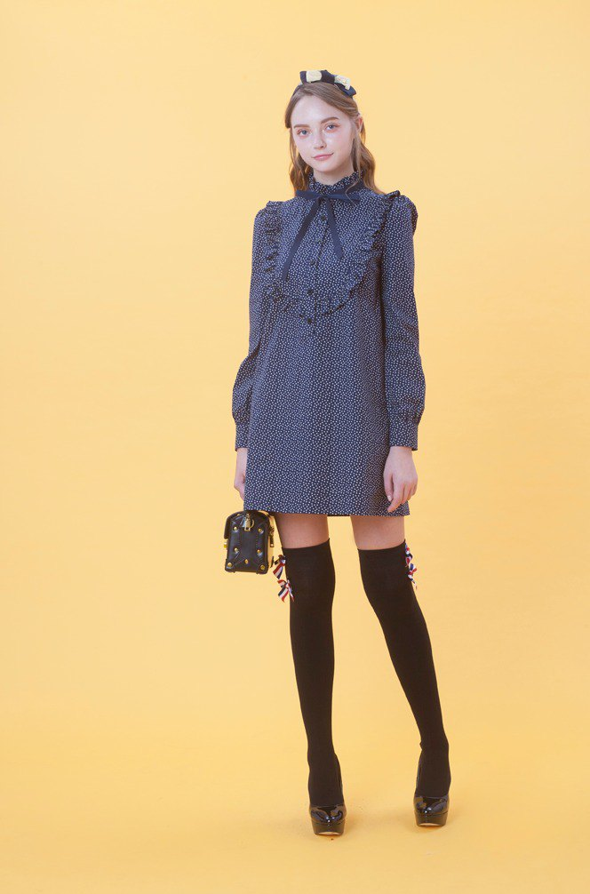 KB Love Heart Long Sleeve Dress 823F718