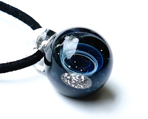 Meteorite World Gibeon Meteorite Ver2 Glass Pendant Space Planetary Star 【送 料 無 料】