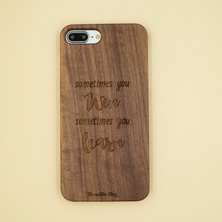 Walnut customized mobile phone shell