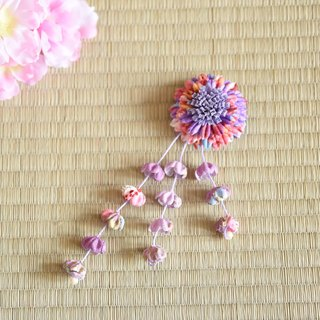 Tassel flower hairpin Korean models