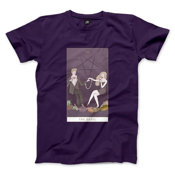 XV | The Devil - Purple - Unisex T-Shirt
