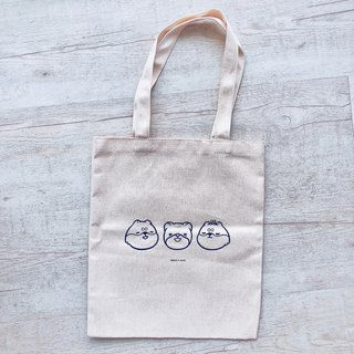Chai Qiangyuan / handmade Juan printing canvas bag (bulk version)