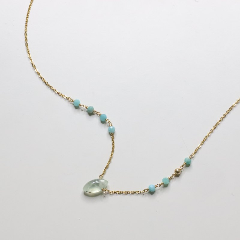 微風沁心項鍊 Calm mind  Necklace