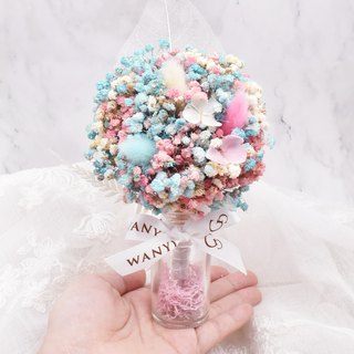 WANYI Dream Marshmallow Starry Flower Tree Dry Flower / Wedding Small Object / Valentine's Day / Graduation Gift