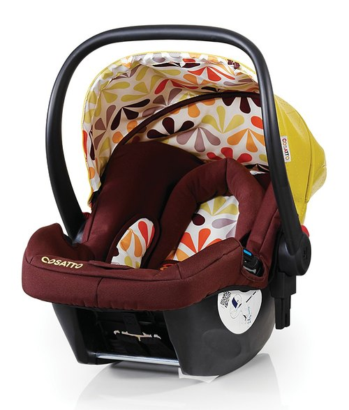 British Cosatto Hold 0+ infant car seat - Marzipan