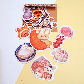 Styling sticker pack - Taiwan sweet rabbit (2018 revised version listed)