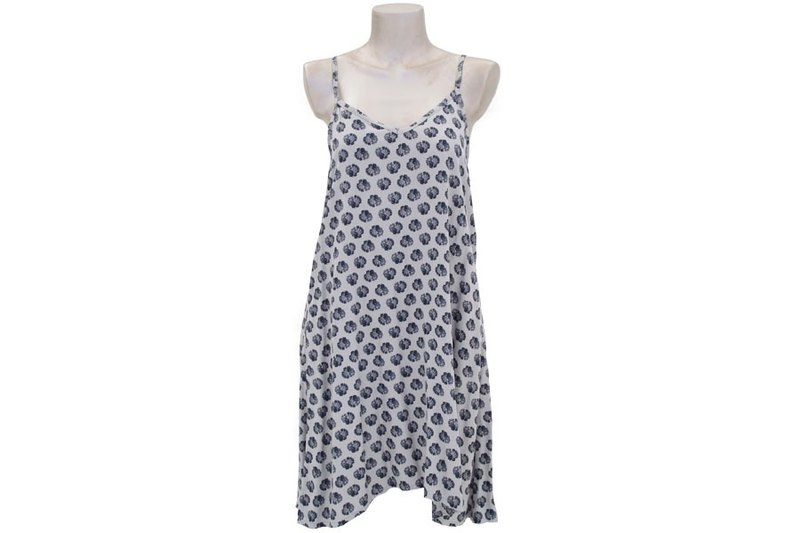 New! Shell print camisole dress <gray>