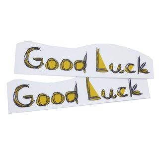 ( Good Luck ) Li-good - Waterproof stickers, luggage stickers - NO.6