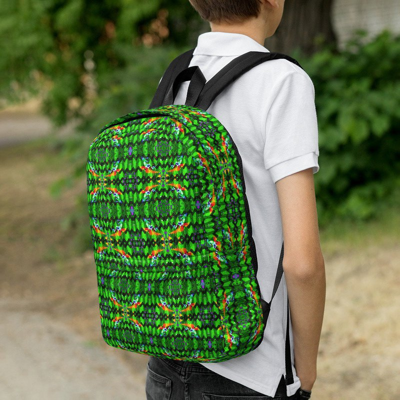 Elf Fairy Green Forest Backpack