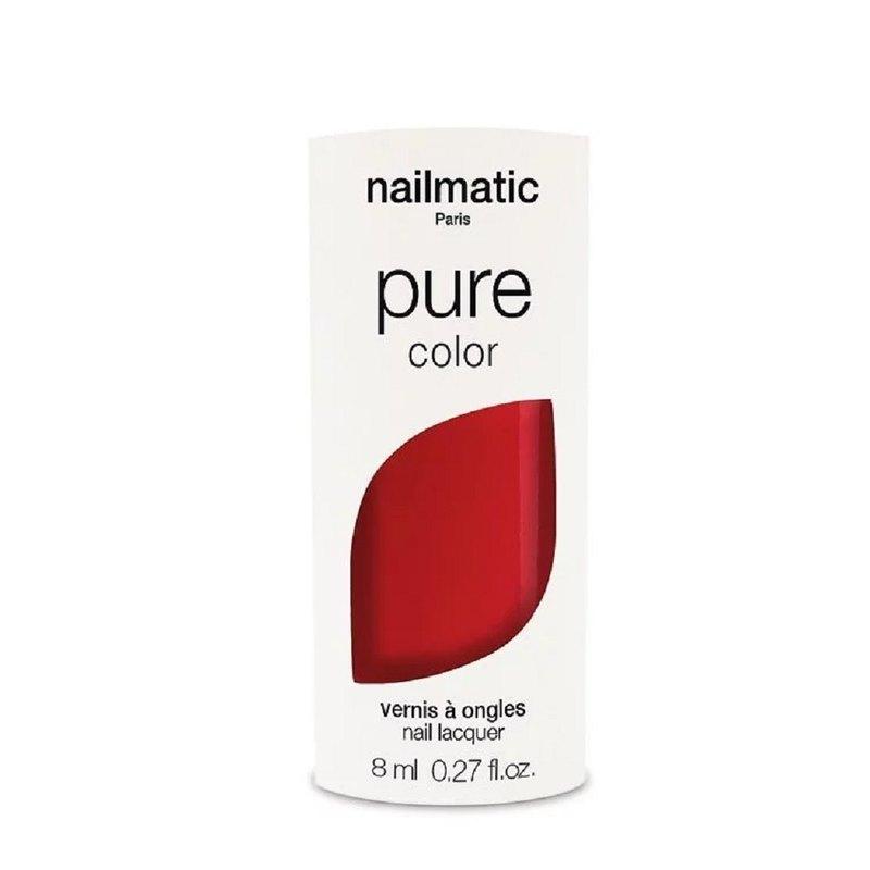 Nailmatic 純色生物基經典指甲油-DITA-胭脂紅