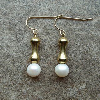 Industrial Pearl Earrings