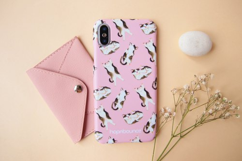 Syrup Cat Phone Case in Pink