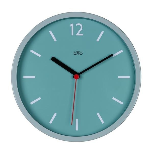 British import Wild & Wolf Nordic minimalist design style 12-inch wall clock (French blue)