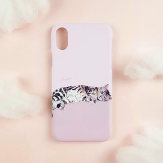 Sleeping Beauty Short Cat (iPhone.Samsung Samsung, HTC, Sony. Asus Case Cover)