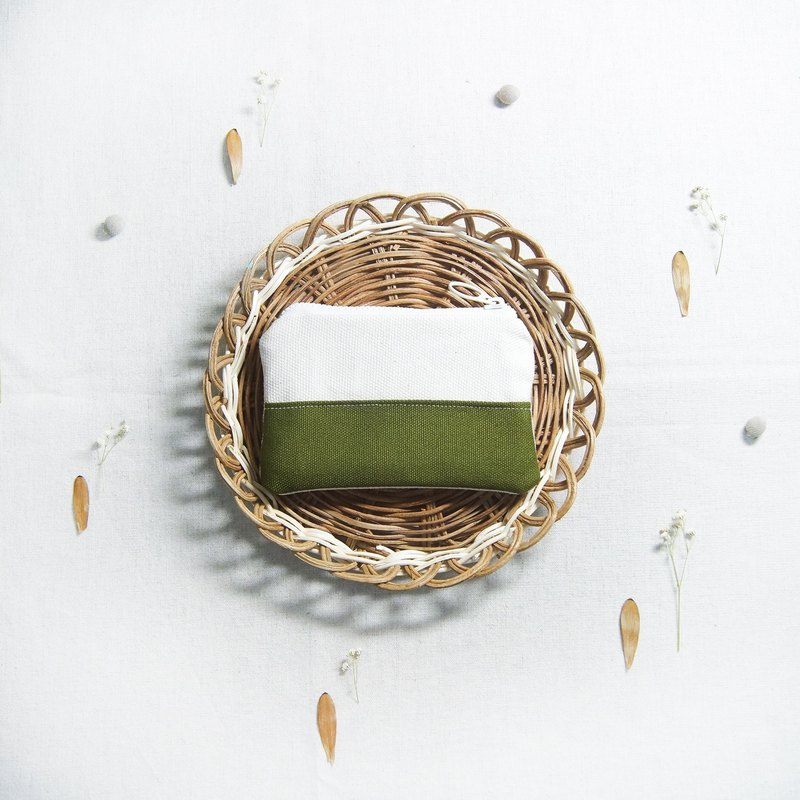 Small fresh coin purse - matcha green
