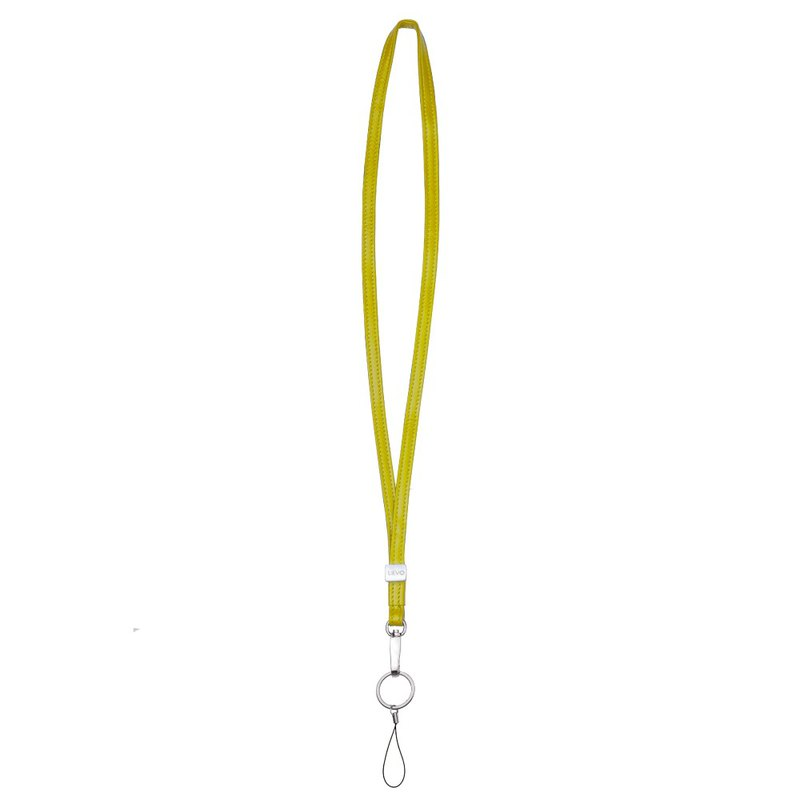 【LIEVO】 ACCESSORY - Lambskin Necklace _ Yellow