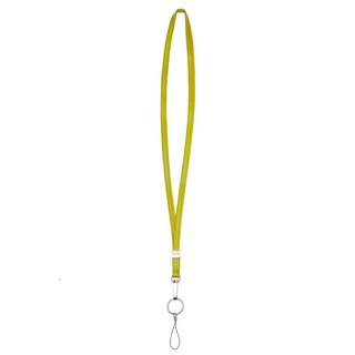 [LIEVO] ACCESSORY - Lambskin Neckline_Yellow