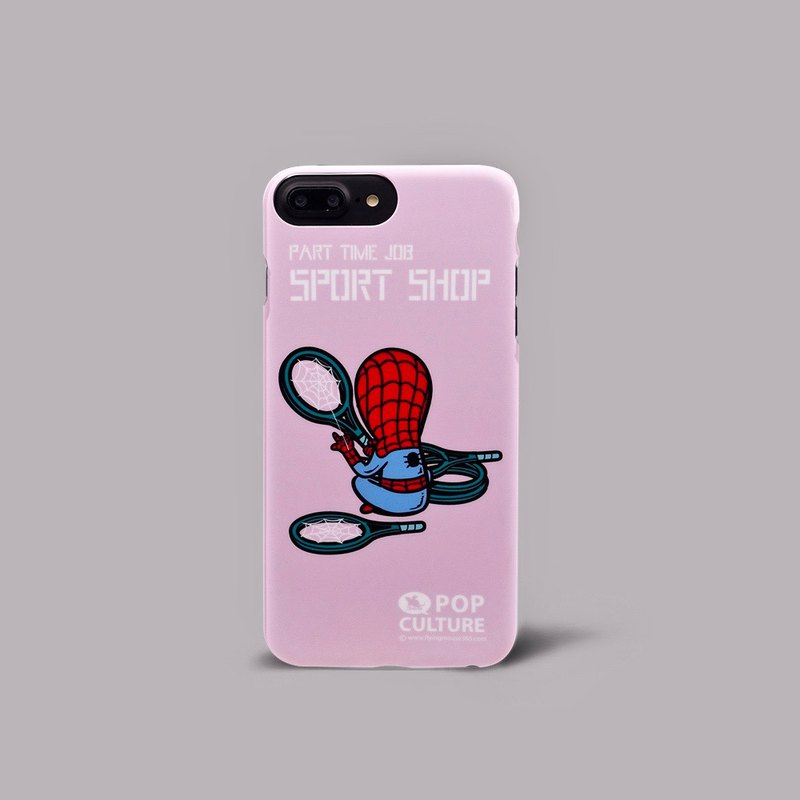 Flying Mouse 365 Design.Spider Man ultra-thin double-sided printed mobile phone case iphone8p