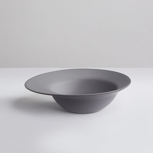 [3, co] Ocean soup bowl (large) - gray