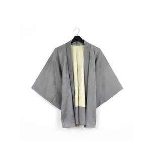 Back to Green-Japan brought back feather weave light gray/vintage kimono