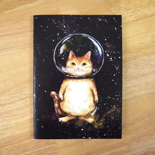 Notebook ★ ★ cosmic glass beads cat cat