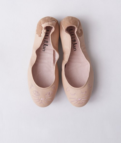 [Cat's March] Two kinds of 喵喵‧ folded ballet shoes _ naked powder bubbles