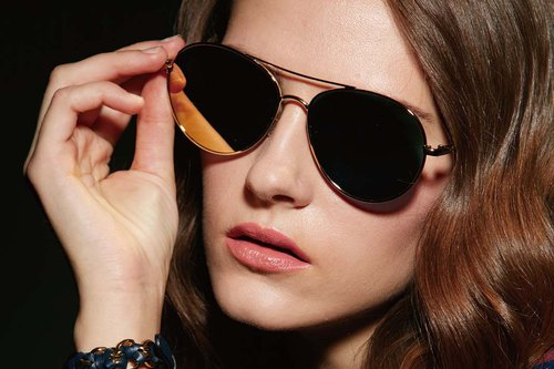 Fashion Eyewear - Sunglasses Sunglasses / Ethel Luxury Gold