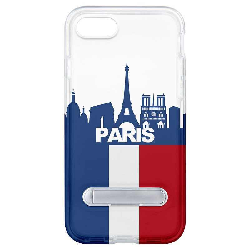 Paris wind hidden magnet bracket iPhone 8 7 6 plus phone case