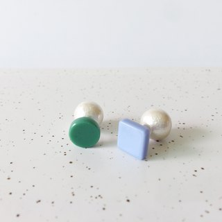 Candy Macaron Series - Pearl Macarons Ear Handmade Earrings Earrings