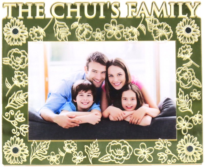 Custom engraved photo frame (4R photo) - Our theme at this B x personalize