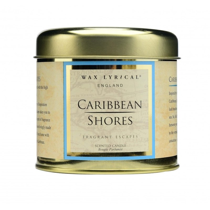 [Wax Lyrical] England Candle FE Series Caribbean Coast Tin Can Candles 35hrs