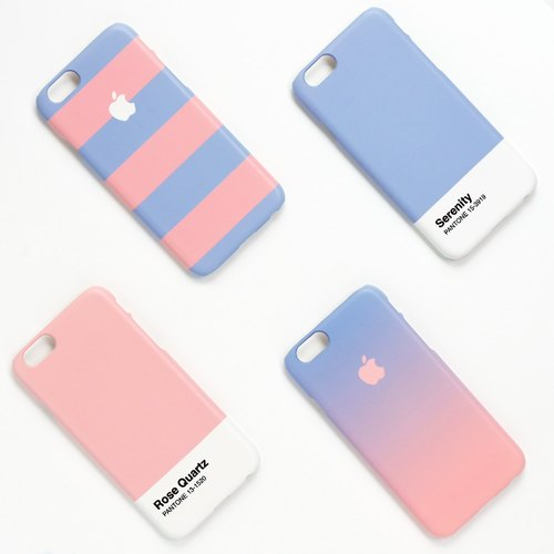 iPhone case - Pantone 2016 trend colors Stripes - for iPhones