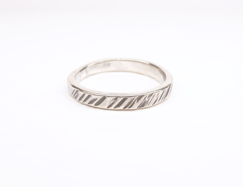 """Ermao Silver"" [ramp] Wood Silver Ring (tail ring paragraph)"