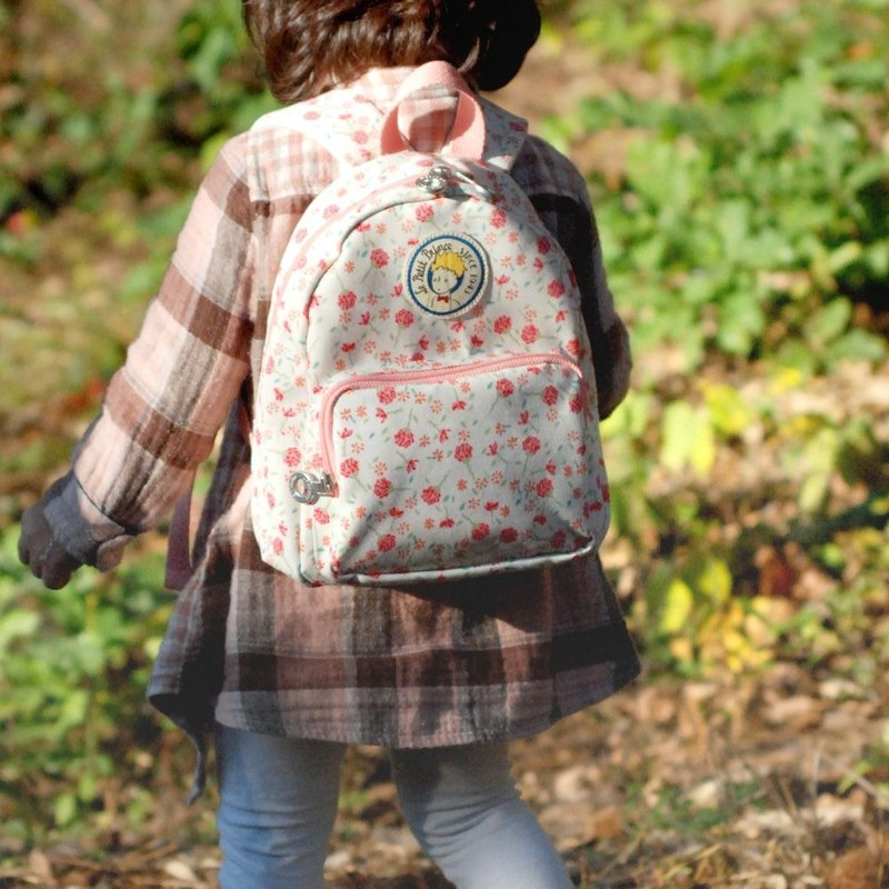 7321 - Little Prince child backpack - rose sea, 7321-04740