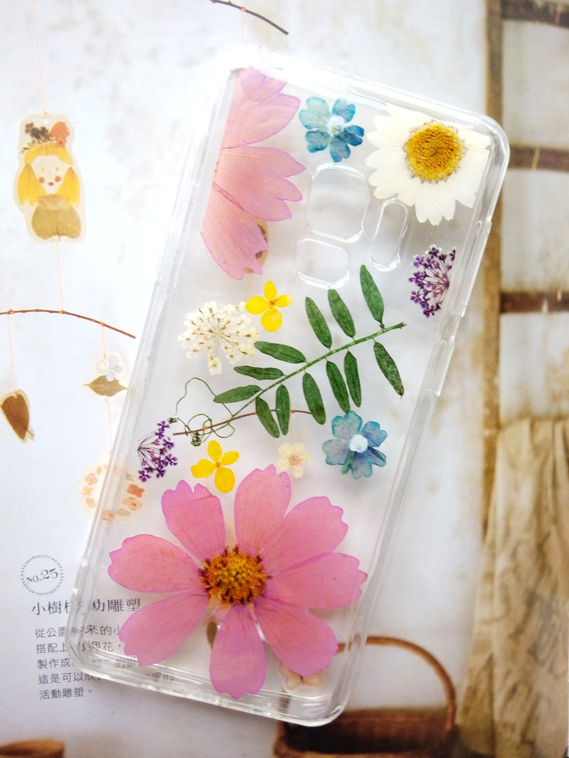Pressed Flower Phone Cases, Samsung Galaxy S9