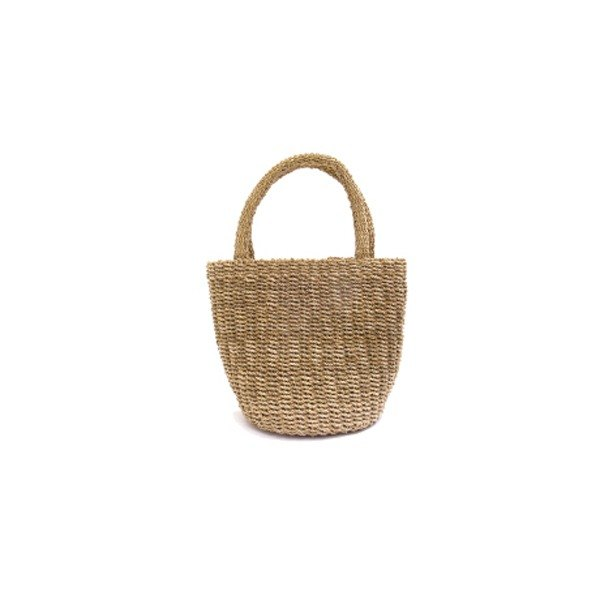 Agar plants handwoven basket S