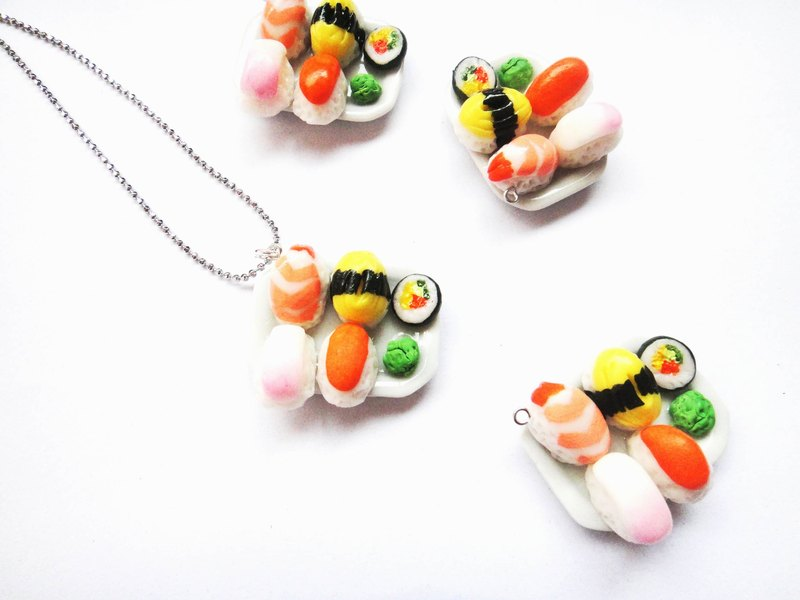 Sushi necklace 2