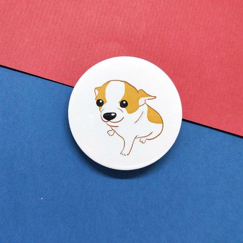 Chihuahua pudding / badge
