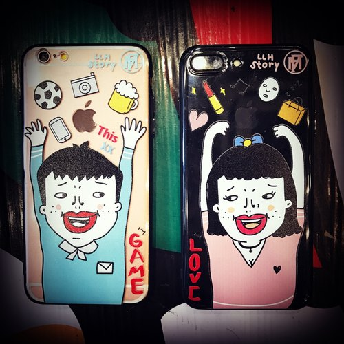 "Flame X LLH ""Boy & Girl"" Phone Case"