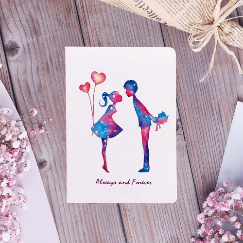 Star lover Valentine's Day Birthday Card