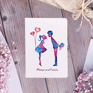 Star Lovers Lovers Birthday Card
