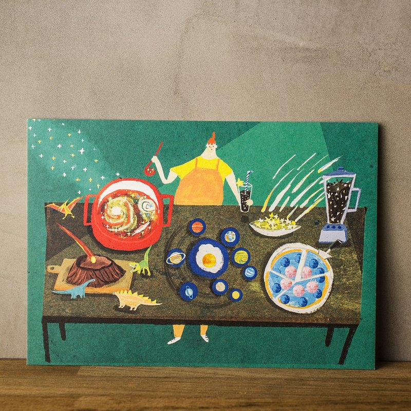 Starry Starry Lab - Postcard