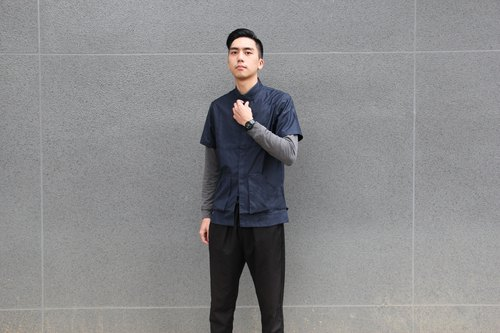 NANYINDA Taiwan shirt - dark blue