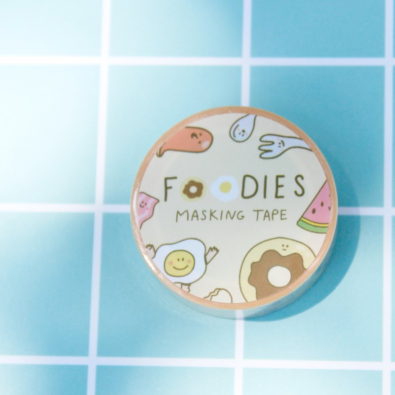 Masking Tape : Foodies