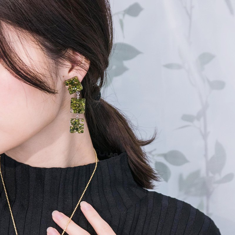 Ocean collection_I Love Seaweed Earrings